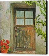 Brittany  Door Canvas Print