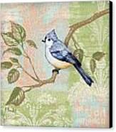 Brocade Songbird II Canvas Print