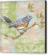 Brocade Songbird Iv Canvas Print