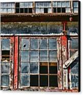 Broken Windows Canvas Print by Paul Ward