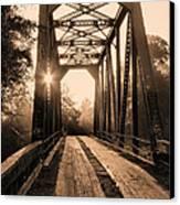 Brooklyn Bridge 3 Canvas Print by JC Findley