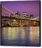 Brooklyn Bridge Canvas Print by Inge Johnsson
