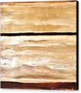 Browns Thru White Tones Canvas Print by Marsha Heiken