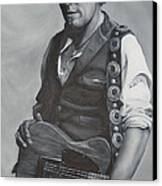 Bruce Springsteen I Canvas Print