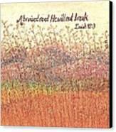 Bruised Reed Canvas Print by Catherine Saldana