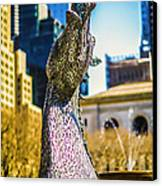 Bryant Park Kelpy Too Two Canvas Print by John Jack