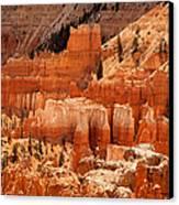Bryce Canyon Landscape Canvas Print by Jane Rix