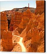 Bryce Canyon Trail Canvas Print by Jane Rix