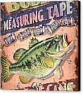 Bubba Measuring Tape Canvas Print
