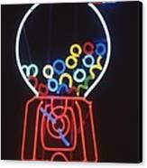Bubblegum Machine Canvas Print by Pacifico Palumbo