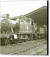 Buckfastleigh Shed Canvas Print