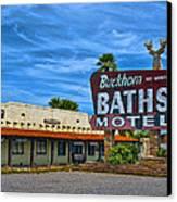Buckhorn Baths Motel Canvas Print
