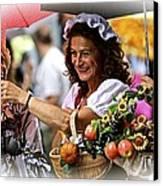 Bucolic Happiness Canvas Print by Roberto Galli della Loggia