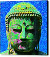 Buddha 20130130p0 Canvas Print by Wingsdomain Art and Photography