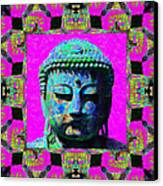 Buddha Abstract Window 20130130p0 Canvas Print by Wingsdomain Art and Photography