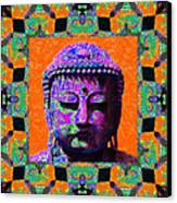 Buddha Abstract Window 20130130p85 Canvas Print by Wingsdomain Art and Photography