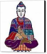 Buddha In Meditation Buddhism Master Teacher Spiritual Guru By Navinjoshi At Fineartamerica.com Canvas Print