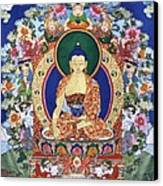 Buddha Shakyamuni And The Six Supports Canvas Print