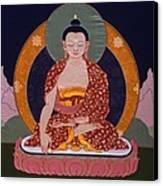 Buddha Shakyamuni Canvas Print by Leslie Rinchen-Wongmo