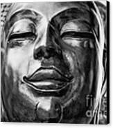 Buddha Smile Canvas Print