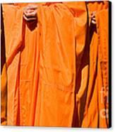 Buddhist Monks 03 Canvas Print