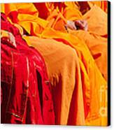 Buddhist Monks 04 Canvas Print by Rick Piper Photography