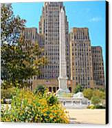 Buffalo City Hall Canvas Print by Charline Xia