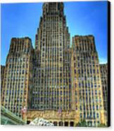 Buffalo City Hall Canvas Print by Tammy Wetzel