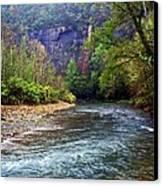 Buffalo River Downstream Canvas Print