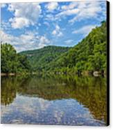 Buffalo River Majesty Canvas Print by Bill Tiepelman