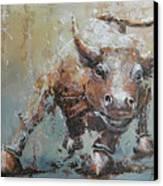 Bull Market Y Canvas Print by John Henne