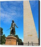 Bunker Hill Monument Canvas Print by Catherine Reusch Daley
