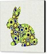 Bunny - Animal Art Canvas Print by Anastasiya Malakhova
