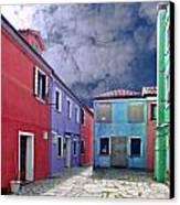 Burano 09 Canvas Print by Giorgio Darrigo