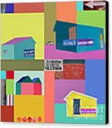 Burger Joint #2 Canvas Print