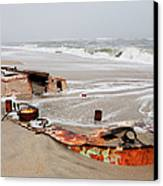 Buried Treasure On The Outer Banks I Canvas Print by Dan Carmichael