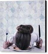 Burnout Canvas Print by Joana Kruse