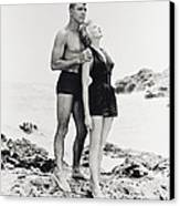 Burt Lancaster In From Here To Eternity  Canvas Print