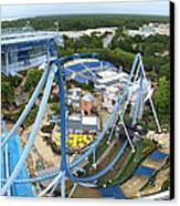 Busch Gardens - 121223 Canvas Print by DC Photographer