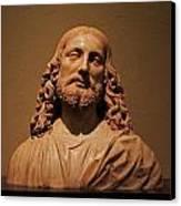 Bust Of Jesus Christ At Mfa Canvas Print