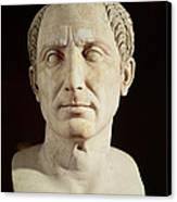 Bust Of Julius Caesar Canvas Print