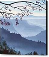 Butte Creek Canyon Mural Canvas Print