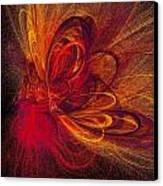Butterfire Canvas Print