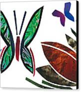 Butterflies Canvas Print by Earl ContehMorgan
