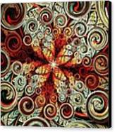 Butterfly And Bubbles Canvas Print by Anastasiya Malakhova