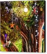 Butterfly Ball Tree Canvas Print by Aimee Stewart