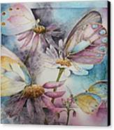 Butterfly Garden Canvas Print
