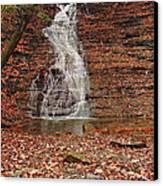 Buttermilk Falls Canvas Print by Marcia Colelli