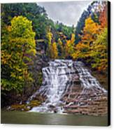 Buttermilk Falls Canvas Print by Mark Papke