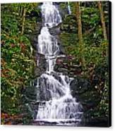 Buttermilk Falls Canvas Print by Sheila Savage